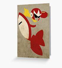 Protoman Greeting Card