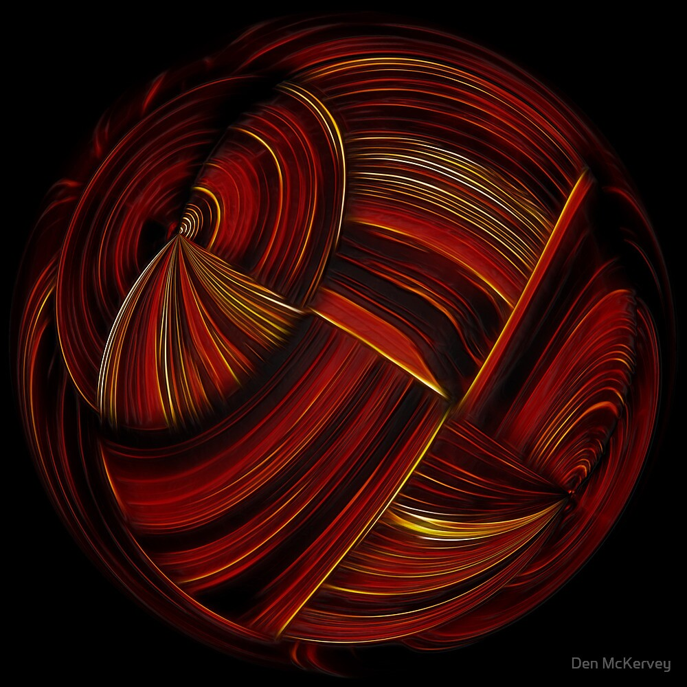 Fireball by Den McKervey
