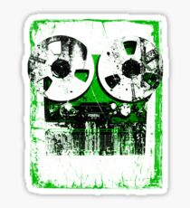 Damaged tapes recorder 2 Sticker