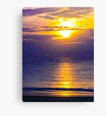 Beautiful Sunset Canvas Print