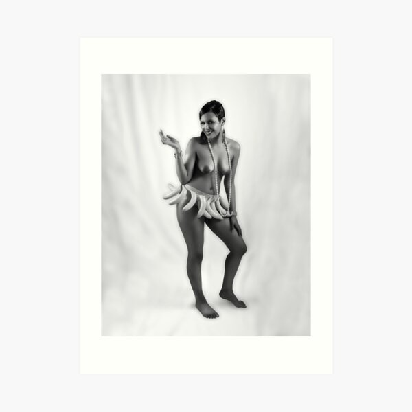 Josephine Baker - A Tribute No.5 in Series Art Print