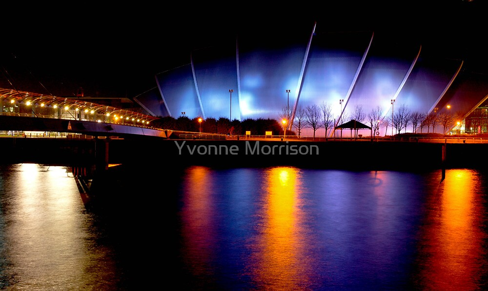 """""""River Clyde """" Glasgow  by Yvonne Morrison"""