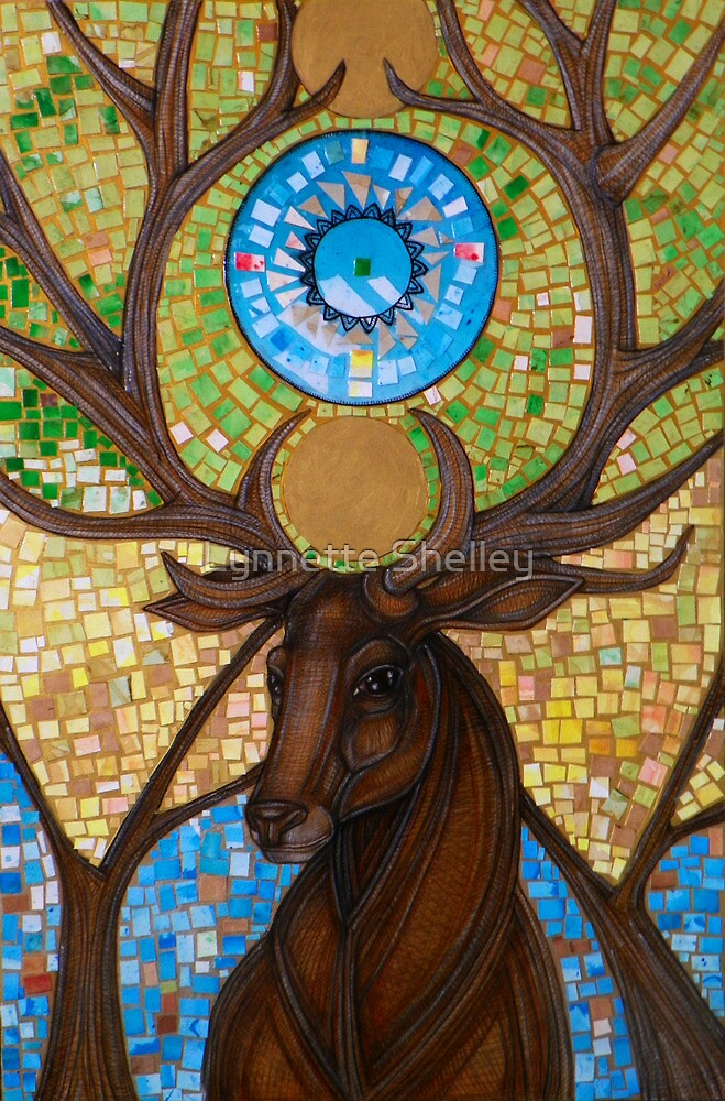 Coronation of the Forest King by Lynnette Shelley