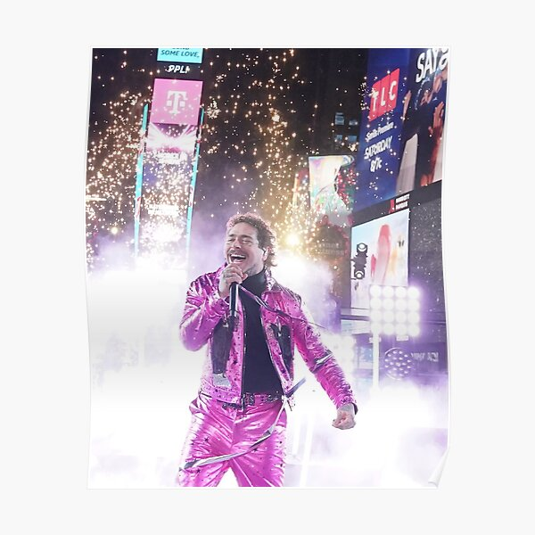 post pink lamp Poster