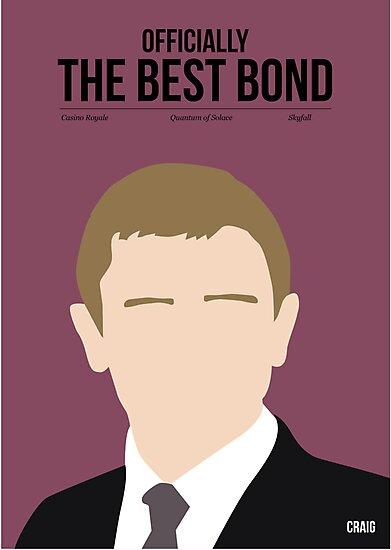 Officially the best bond - Craig! by Stephen Wildish
