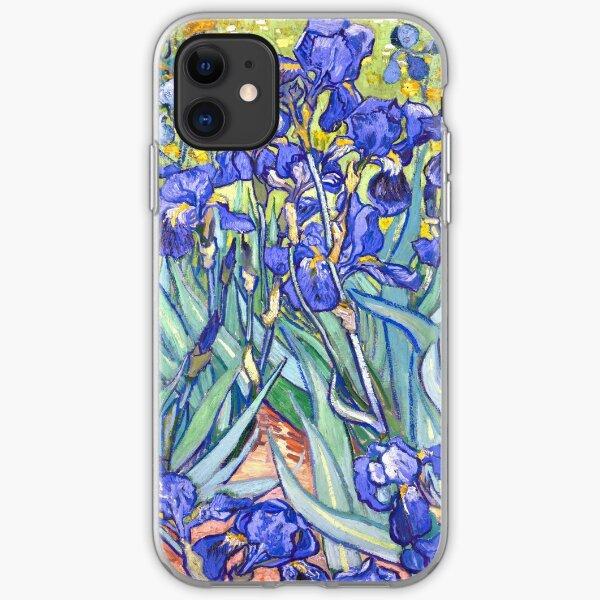 Vincent Van Gogh Irises iPhone Soft Case