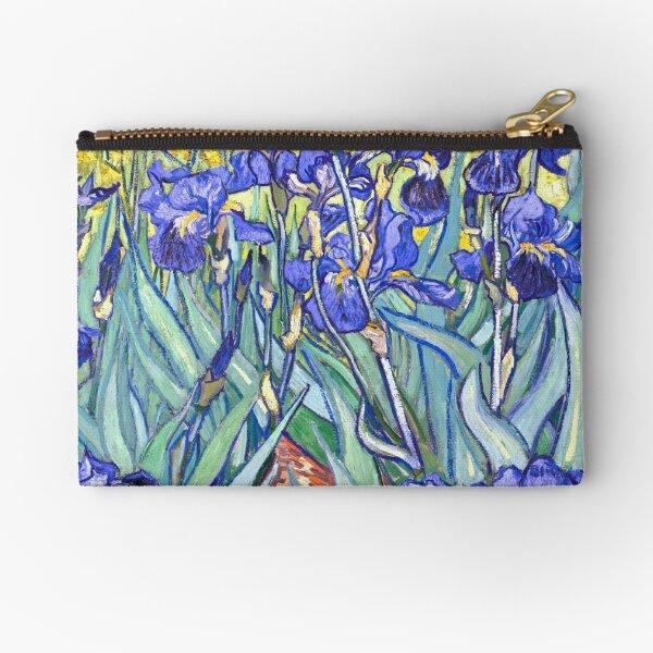 Vincent Van Gogh Irises Zipper Pouch