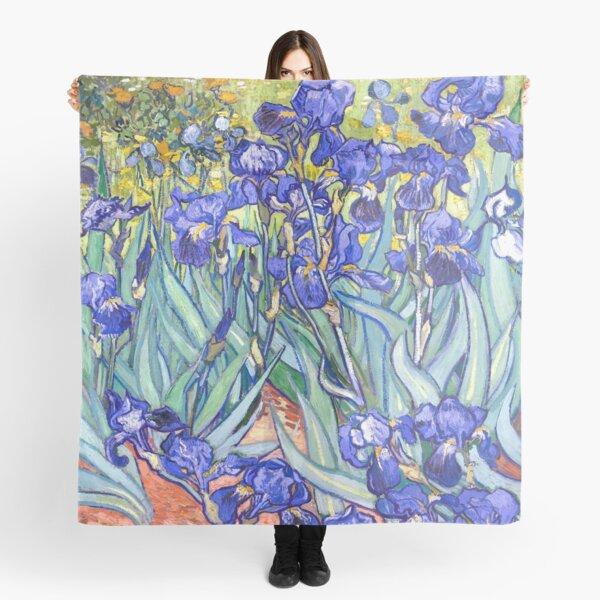 Vincent Van Gogh Irises Scarf