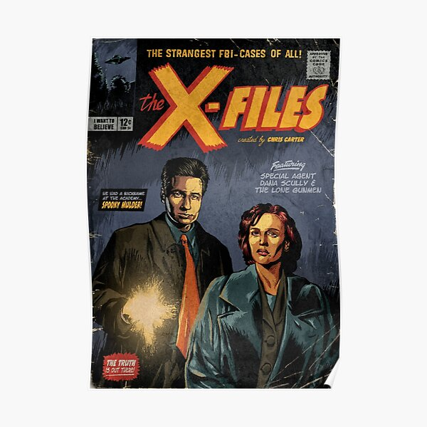 The X-Files: Mulder and Scully Poster