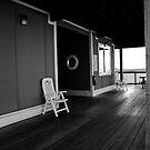 Boat House II by Wendy Mogul