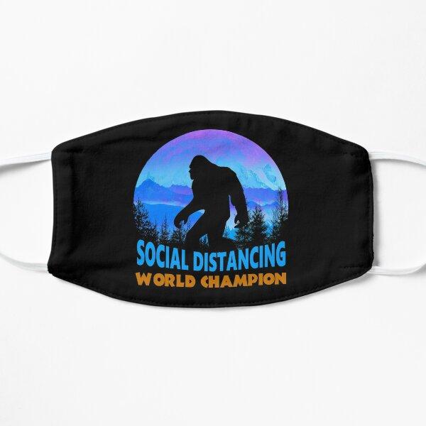 Bigfoot Social Distancing World Champion Sasquatch Meme Mask