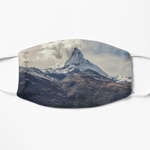 Vue sur le sommet du mont Cervin Masque sans plis