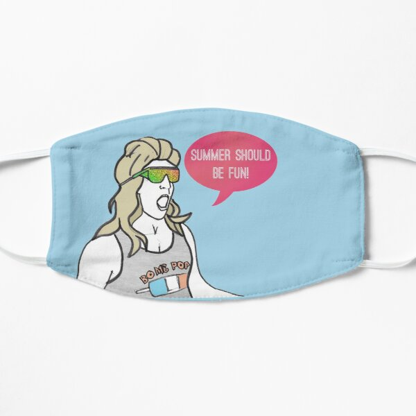 Summer should be fun Flat Mask