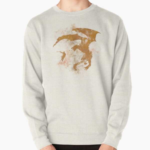 Dragonfight-cooltexture Pullover Sweatshirt