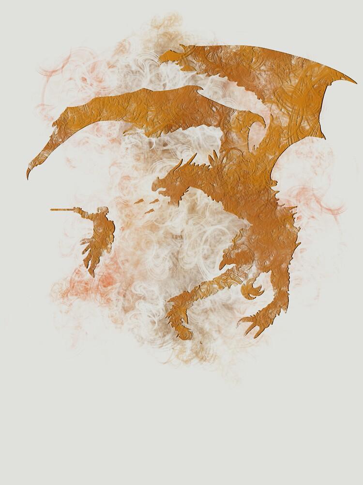 Dragonfight-cooltexture | Unisex T-Shirt