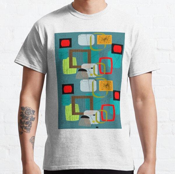 Mid-Century Modern Abstract Art III Classic T-Shirt