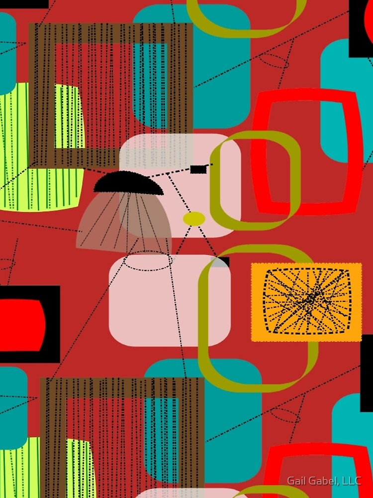 Mid-Century Modern Abstract Art by gailg1957