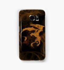Dragonfight-cooltexture Samsung Galaxy Case/Skin
