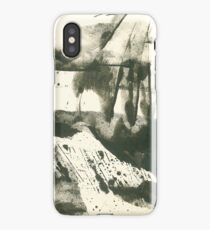 autumn landscape with snow iPhone Case
