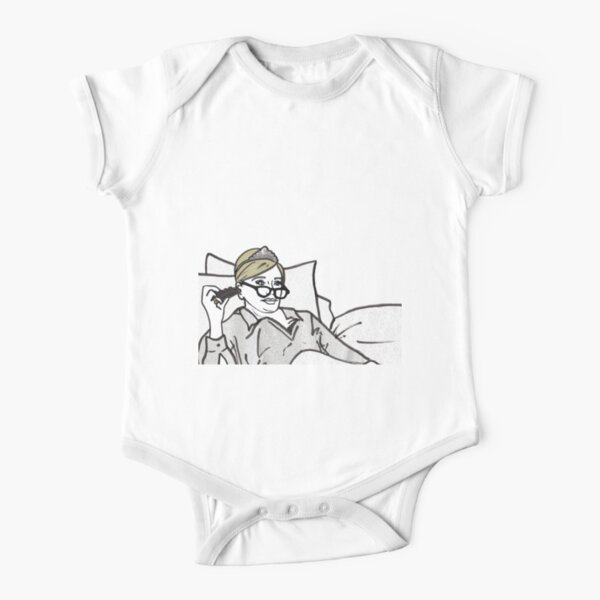 Lady Morgan Short Sleeve Baby One-Piece