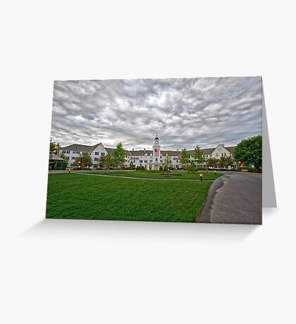Sagamore Resort, Lake George NY Greeting Card