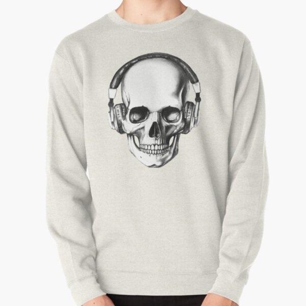 SKULL HEADPHONES Pullover Sweatshirt