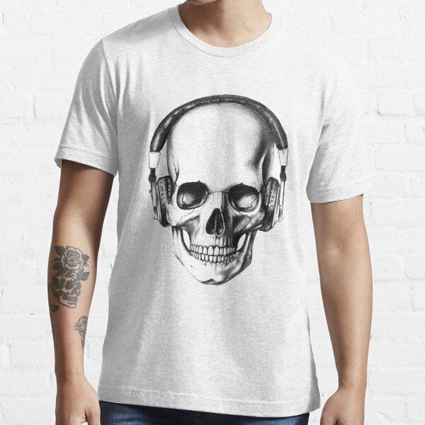 SKULL HEADPHONES Essential T-Shirt