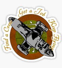 Keep Flying Sticker
