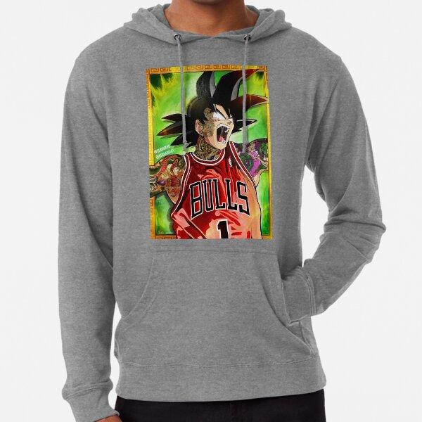 Goku jumpman  Lightweight Hoodie