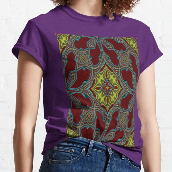 Embroidery Tribal Classic T-Shirt