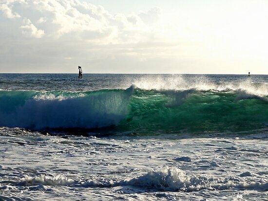 the great wave von Angelika Sielken