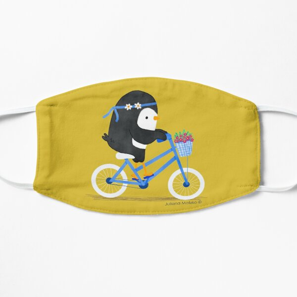 Penguin on a Bike Mask