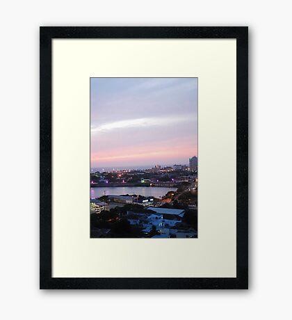 Cartagena Framed Print