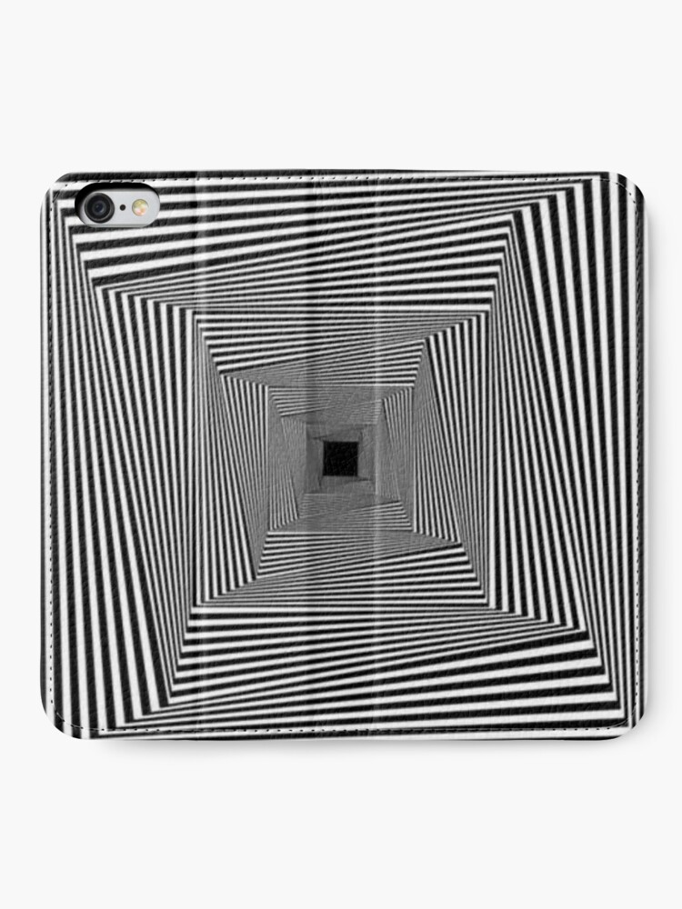 Alternate view of Light At The End Of The Tunnel iPhone Wallet