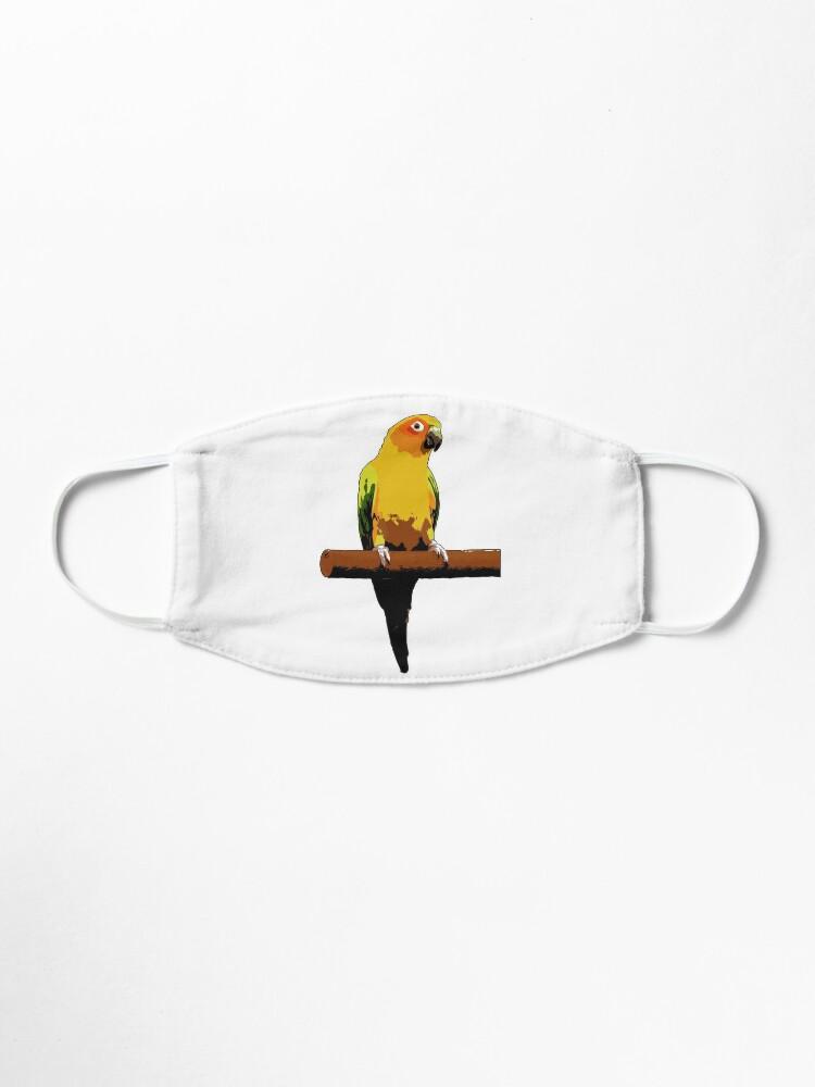 Alternate view of Sun Conure Vector Mask