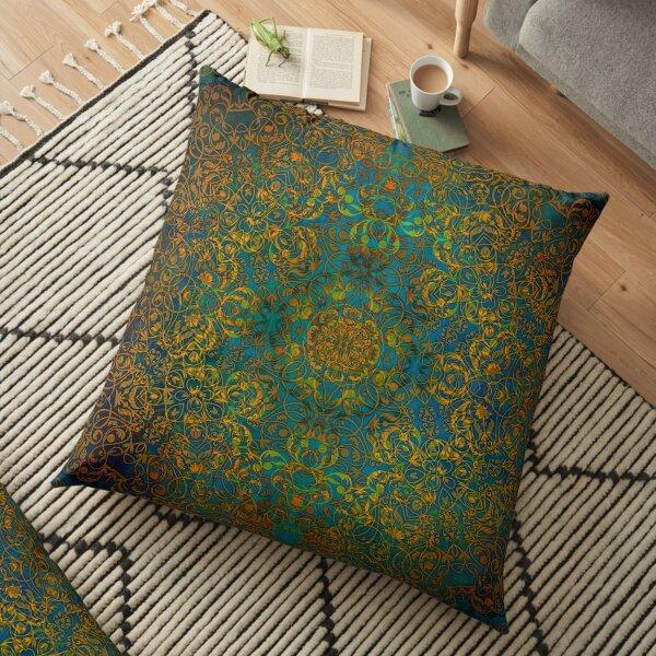 Magic 1 #mandala Floor Pillow