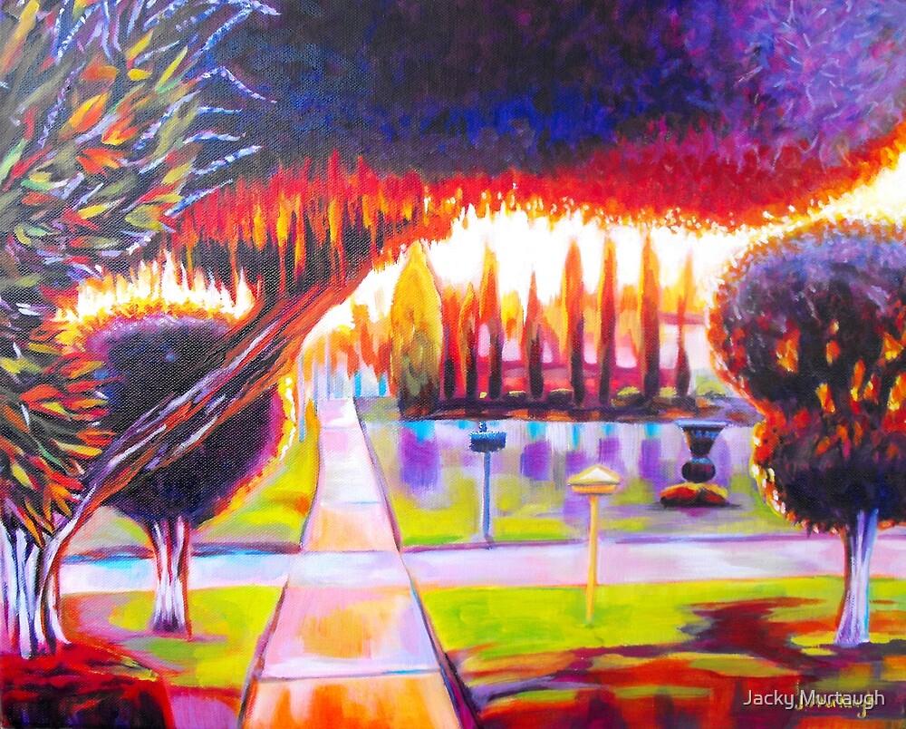Burning Bush by Jacky Murtaugh