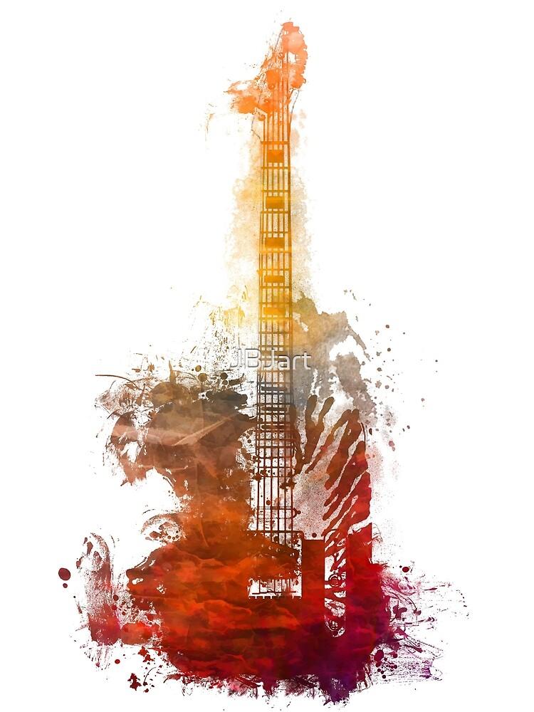 Fantasy guitar #guitar by JBJart