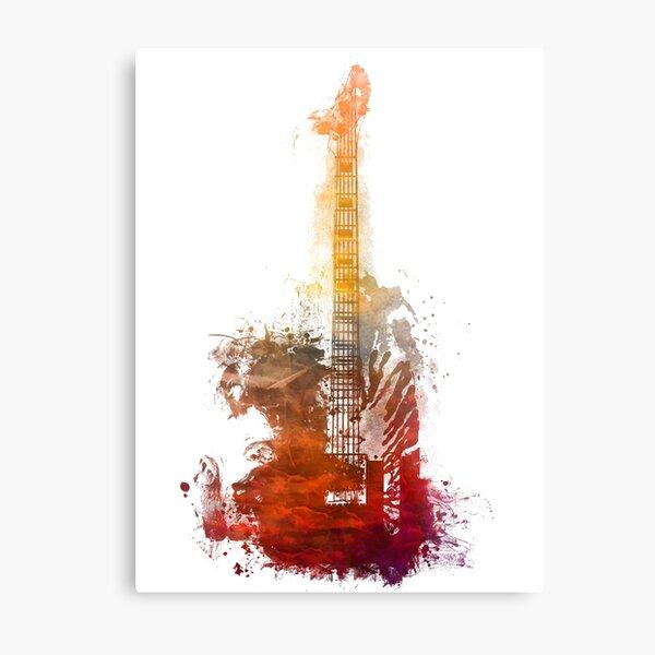 Fantasy guitar #guitar Metal Print