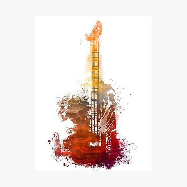 MUSIC GUITAR STRING INSTRUMENT MUSICAL LARGE POSTER ART PRINT BB3202A