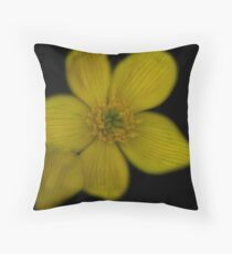 Black n Gold Throw Pillow