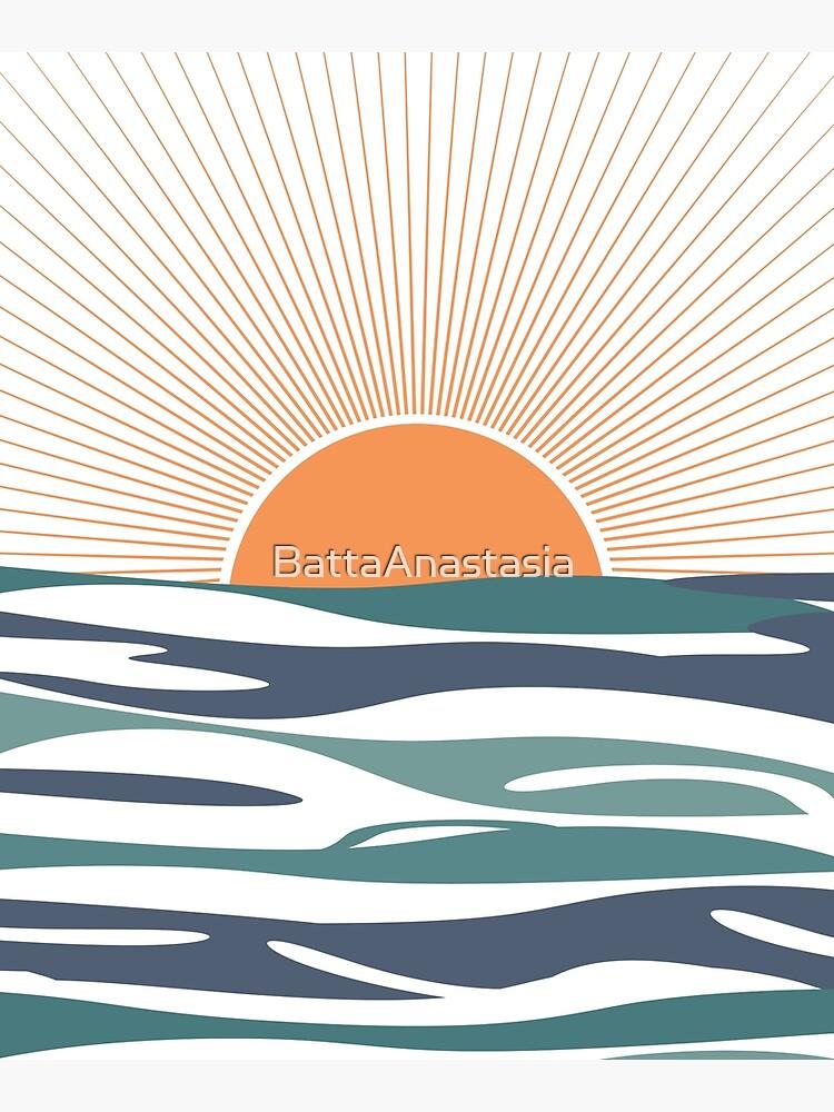 Sunrise by the sea by BattaAnastasia