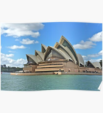 Sydney Opera House: taken from a Manly Ferry Poster