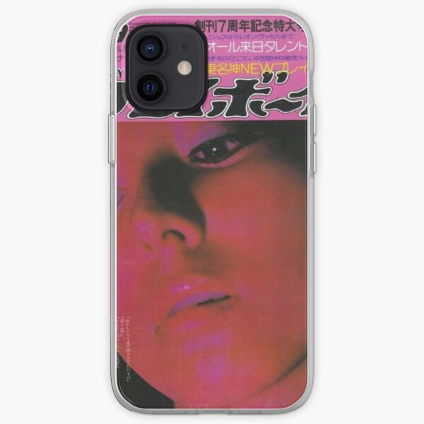 vintage pink y2k magazine cover iPhone Soft Case