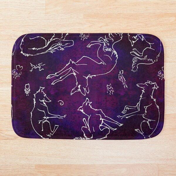 Noodle Doodle Nebula Bath Mat