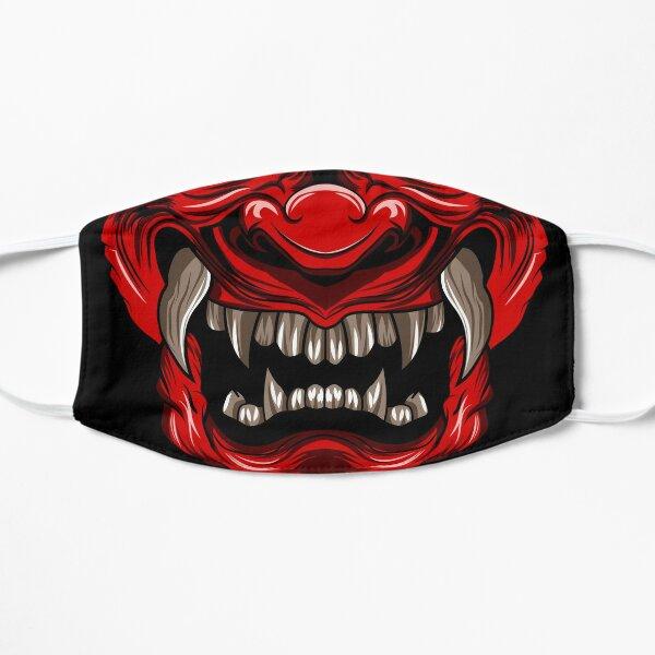 Samurai Mask Flat Mask