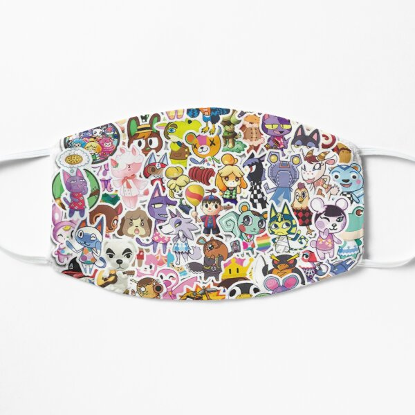 Animal Crossing Masque sans plis