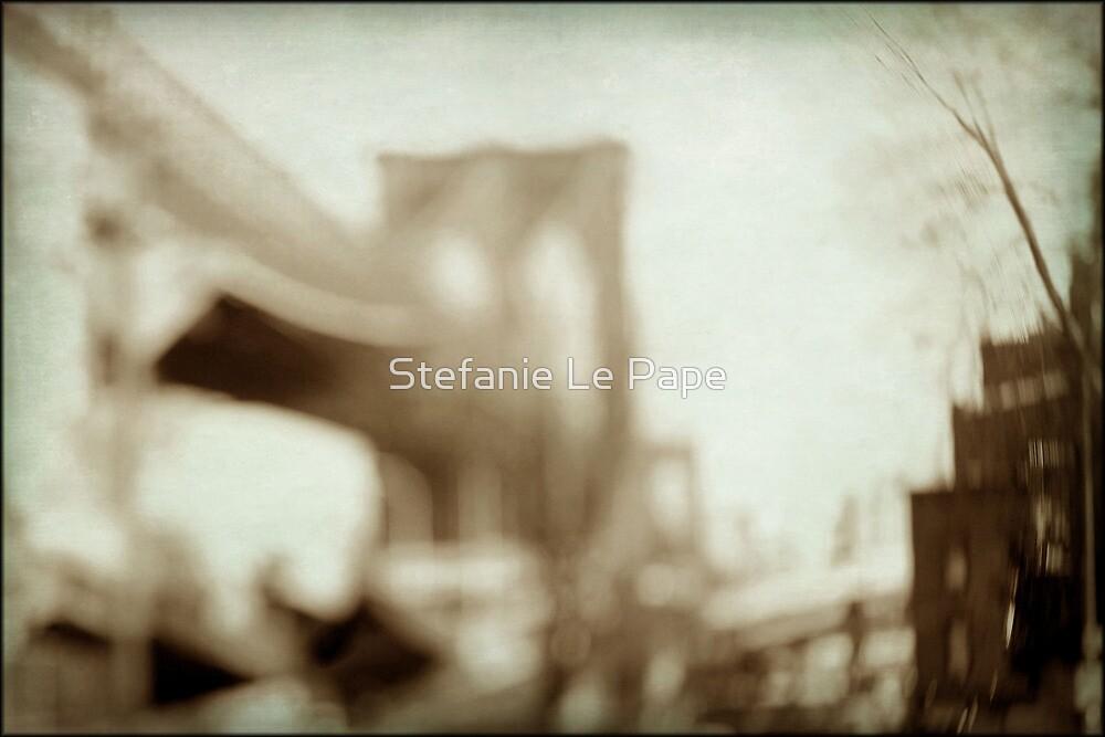 fondness of bridges crossed by Stefanie Le Pape