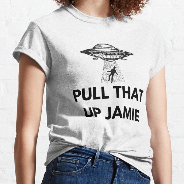 Joe Rogan Experience 'Pull that up Jamie' UFO Classic T-Shirt