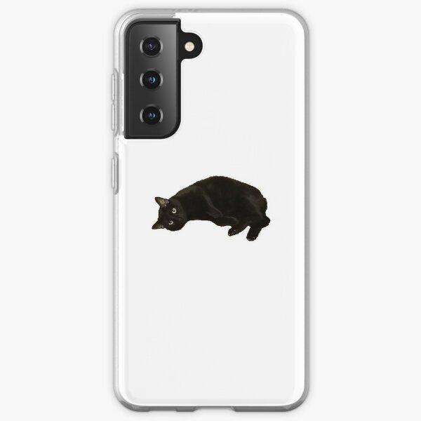 Black Cat  Samsung Galaxy Soft Case
